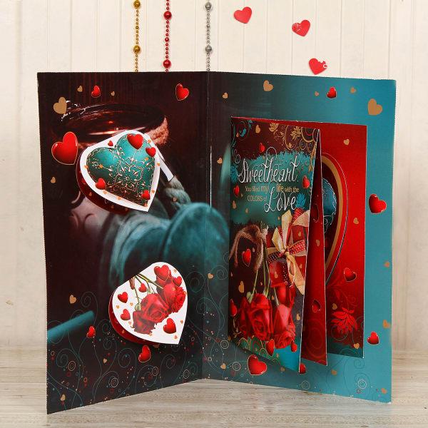 Designer Love Quotes Greeting Card