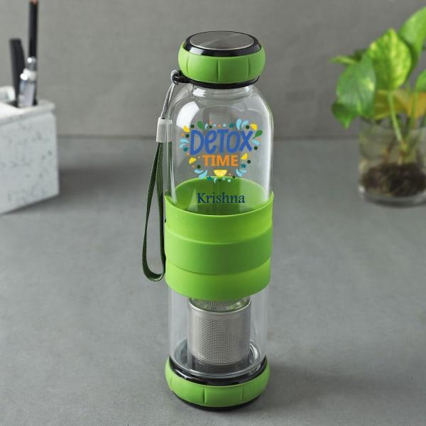 Detox Personalized Infuser Water Bottle (550 ml)