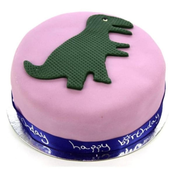 Dinosaur Celebration 10 inches Cake
