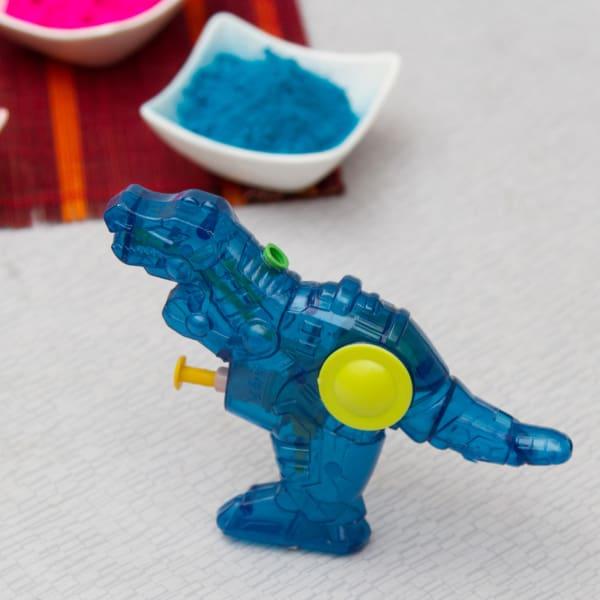 Dinosaur Pichkari for Kids