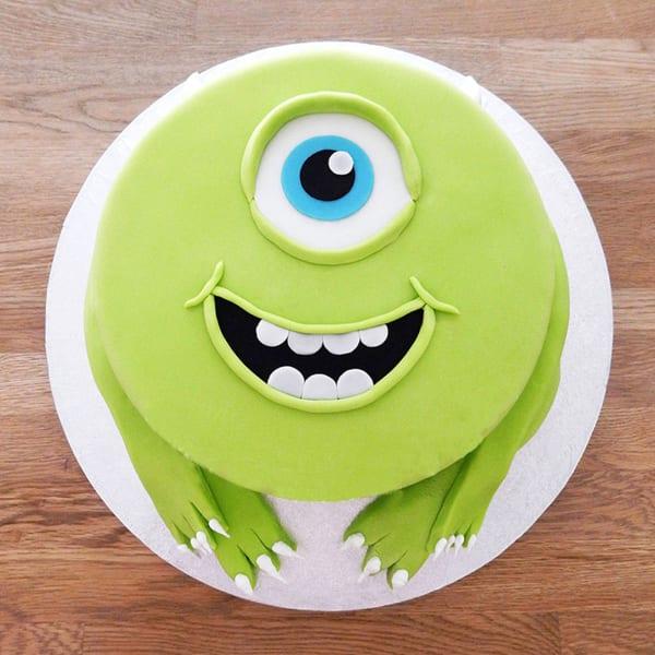 Disney Monsters Inc Fondant Cake (2 Kg)