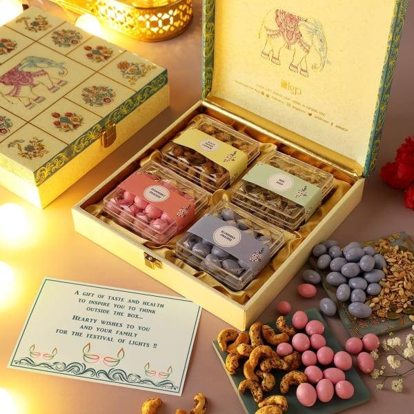 Dragees And Snacks Diwali Hamper