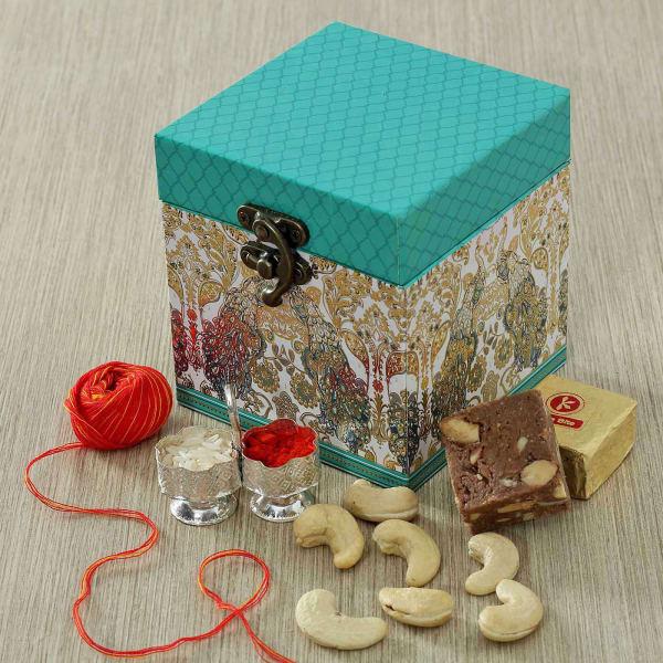 Dry Fruits in Designer Box with Mewa Bites