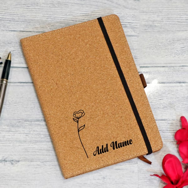 Eco-Friendly Personalized Notebook