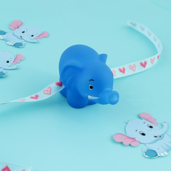 Elephant Squeaky Toy Kids Rakhi