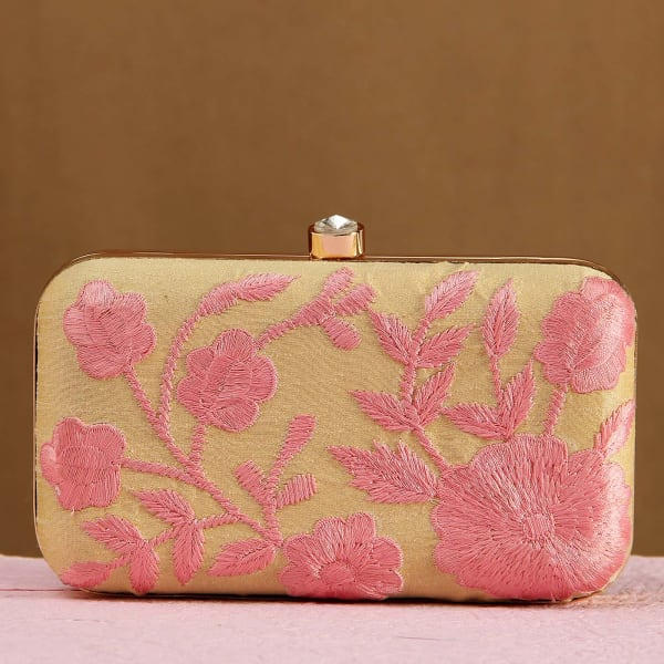 Embroidery Work Hand Clutch