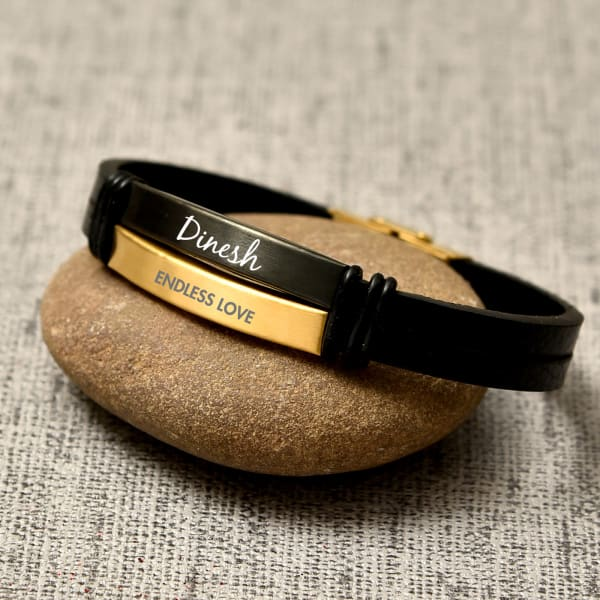Endless Love Personalized Leather