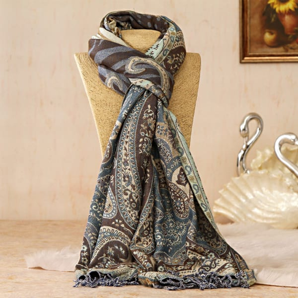 Ethnic Printed Viscose Stole: Gift/Send Fashion and Lifestyle