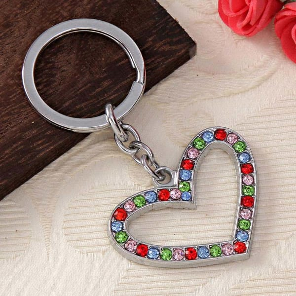 Exciting Heart Themed Key Chain