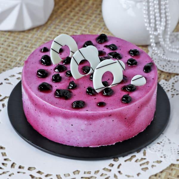 Exotic Blueberry Cake (Half Kg)