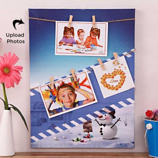 Fabulous Personalized Canvas Photo Frame