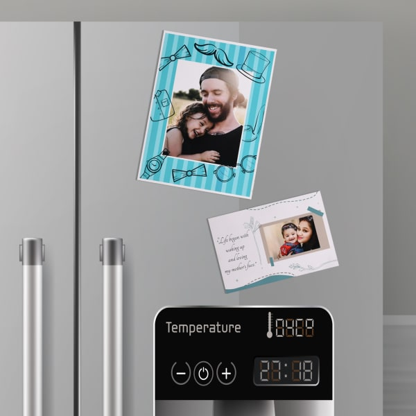 Family Love Personalized Fridge Magnets (Set of 2)