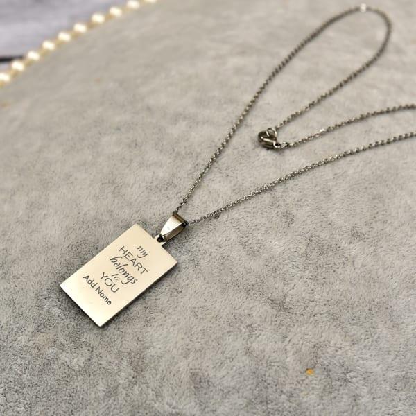 Fashionable Personalized Pendant