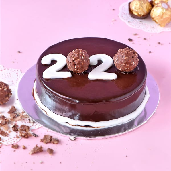 Best Food Gifts 2020.Ferrero Rocher New Year Cake 2020 2 Kg Gift Send New Year