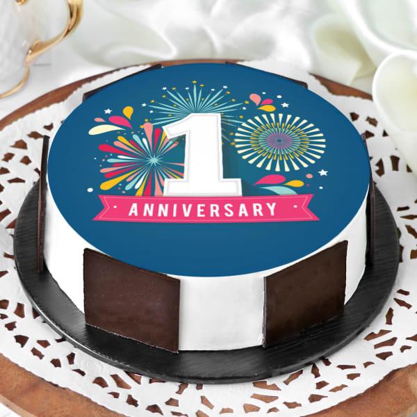 First Anniversary Cake (Half Kg)
