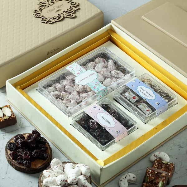 Flavored Dry Fruit Sweets in Gift Box