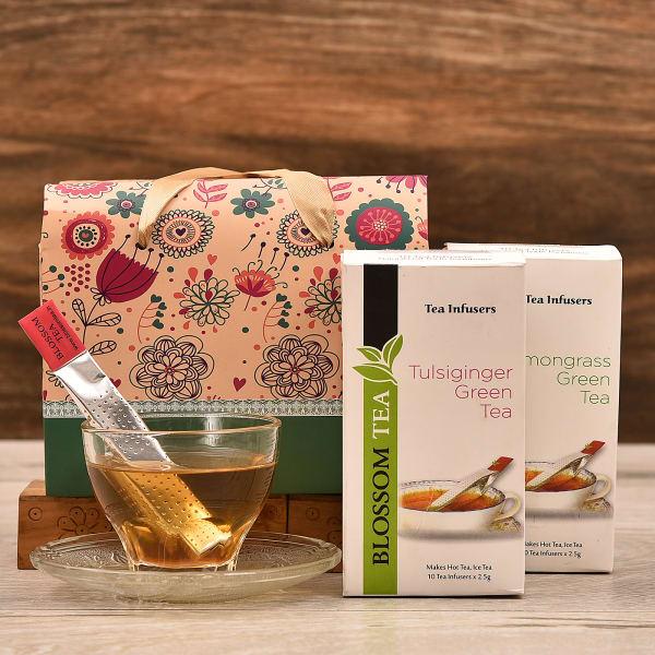 Flavoured Green Tea Infusers in Handbag