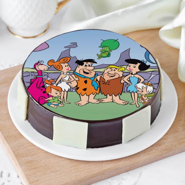 Flintstones Cake (Half Kg)