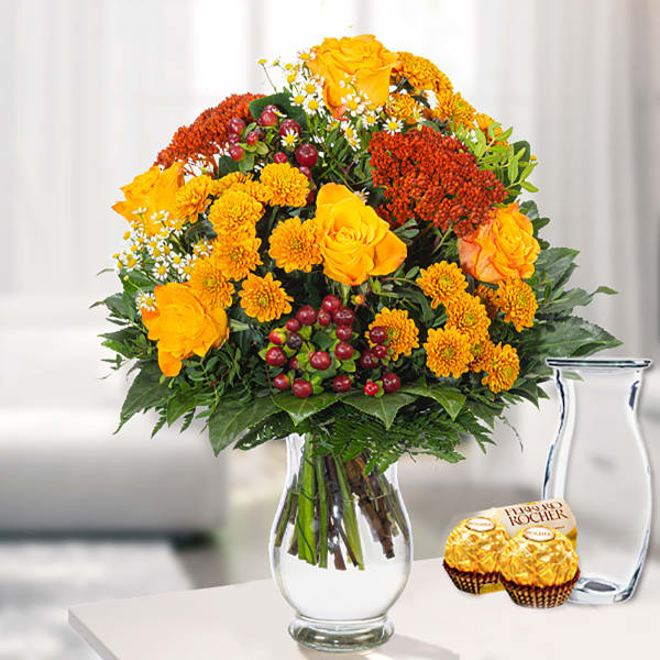 Flower Bouquet Herbstbote