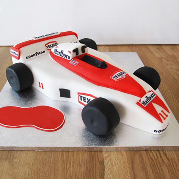 Formula 1 Car Fondant Cake (2.5 Kg)