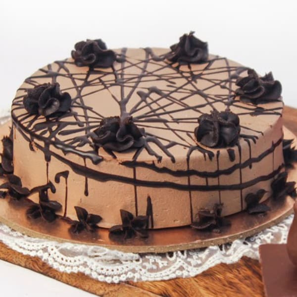 Fresh One Kg Chocolate Mousse Cake