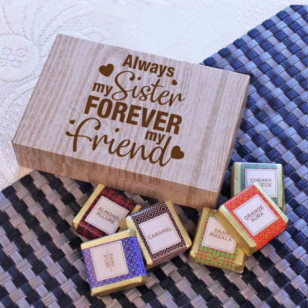 Friends Forever Assorted Chocolate Box for Sister