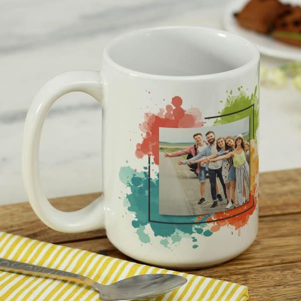 Friends Gang Personalized Large Mug