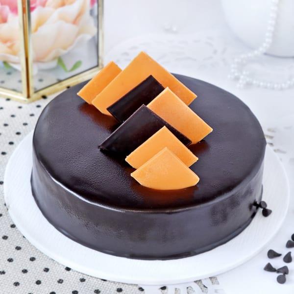 Frosty Chocolate Cake (1 Kg)