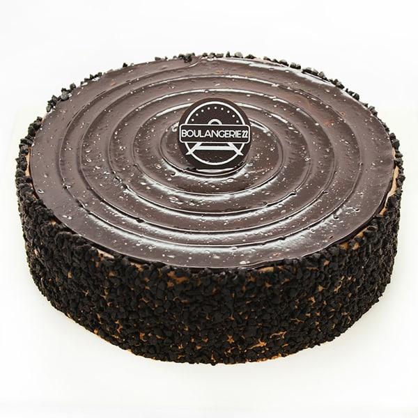 Fudge Crunch Cake
