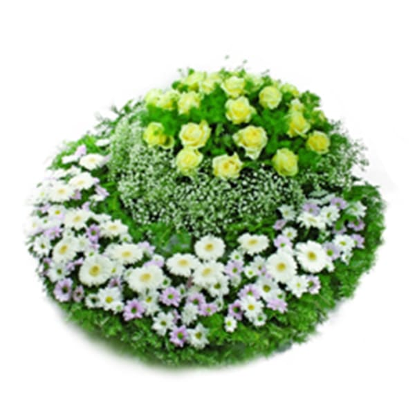 Funeral wreath Farewell