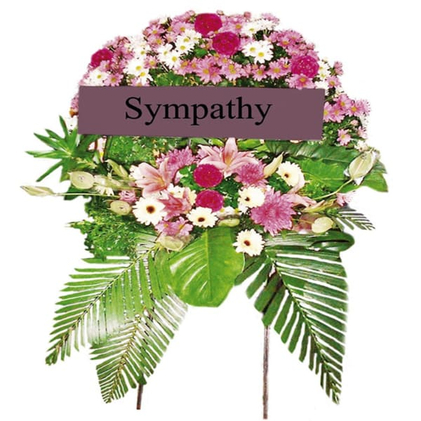 Funeral Wreath (stand not included )
