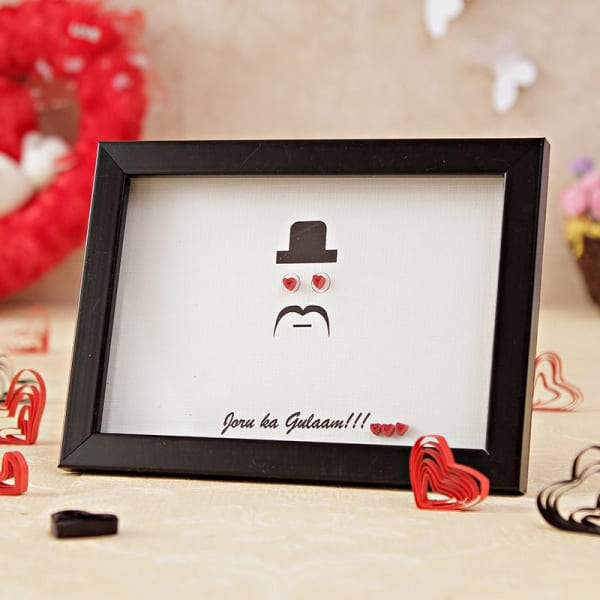 Funny Quote Handcrafted Frame