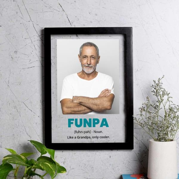 Funpa Personalized Wall Photo Frame