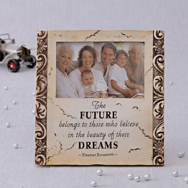 Future-Dreams Theme Ceramic Photo Frame
