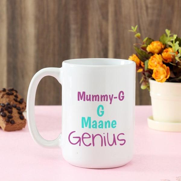Genius Mummyji Personalized Large Mug