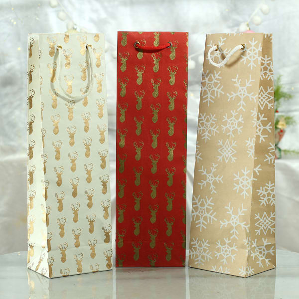 Gift Bags in Paper (Set of 3)