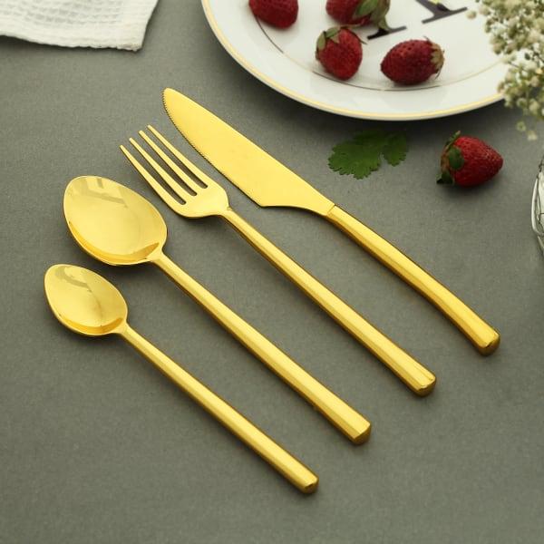 Glam Gold Cutlery Set