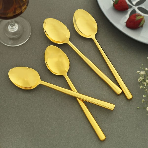 Glam Gold Spoons (Set of 4)