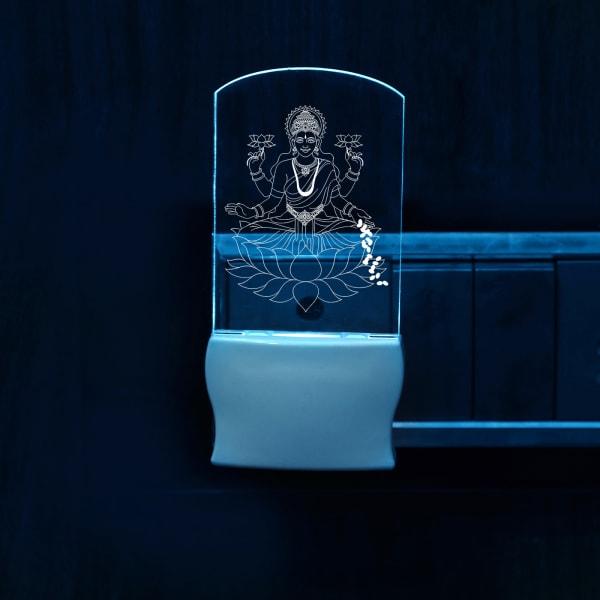 Goddess Laxmi Decorative LED Lamp