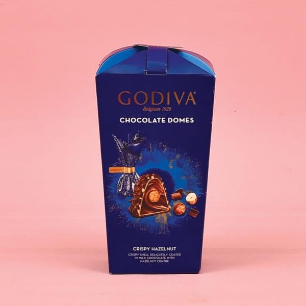 Godiva Chocolate Domes-Crispy Hazelnuts