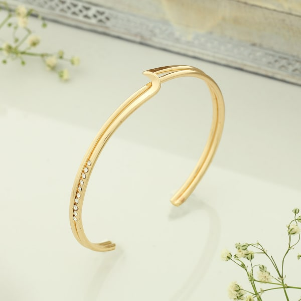 Gold Plated Elegant Bracelet