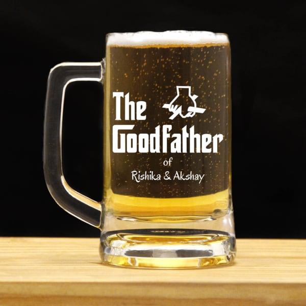 Goodfather Personalized Beer Mug