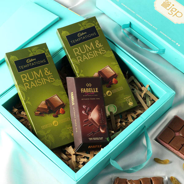Gourmet Chocolates in Gift Box