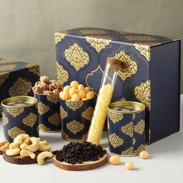 Gourmet Goodies In Ornate Gift Box