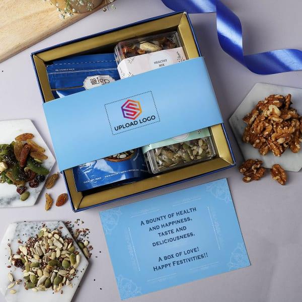 Gourmet Healthy Diwali Hamper - Customized With Logo