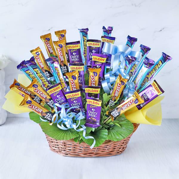 Grand Assorted Cadbury Chocolates Bouquet