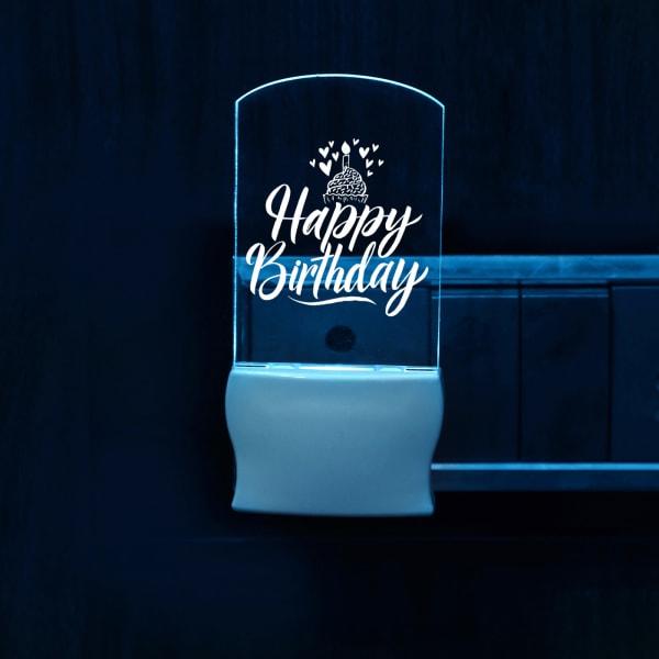 Happy Birthday Home Decor LED Lamp