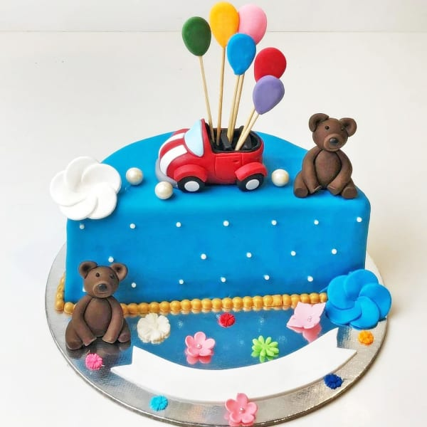 Happy Half Year Kids Birthday Cake (1.5 Kg)