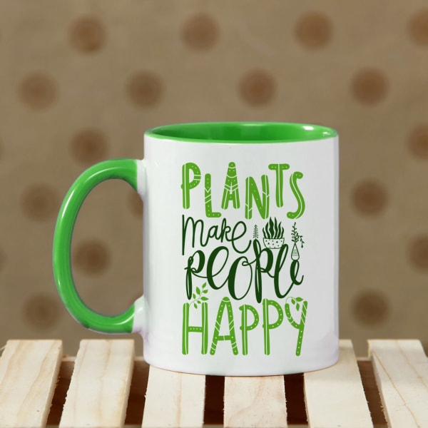 Happy Plant Lover Personalized Mug