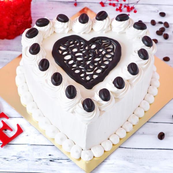 Heart Coffee Cake (Half Kg)
